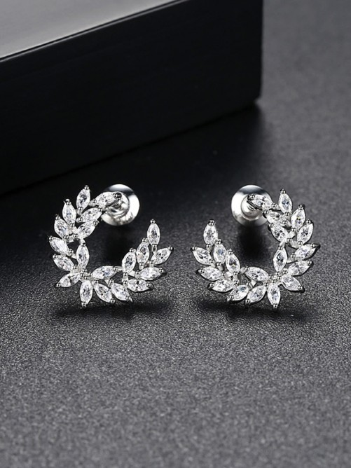 Korean Cubic Zirconia Earrings