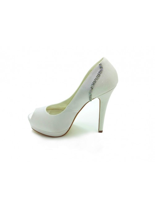 Heel Platform Wedding Shoes S14099