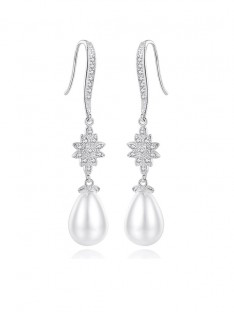 Imitation Pearls Earrings