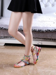 Colorful Sandal Shoes S5LSDN52524LF