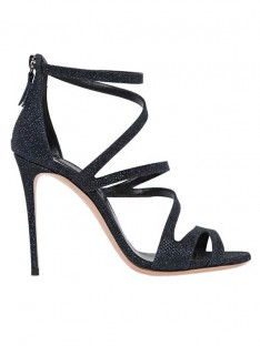Women's Suede Peep Toe Stiletto Heel Sandals