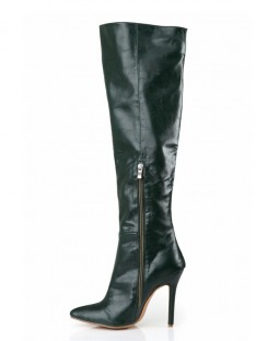Heel Knee High Boots SMA03740LF